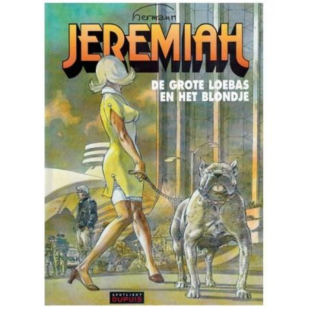 Jeremiah HC 33 De grote loebas en het blondje 1e druk 2014