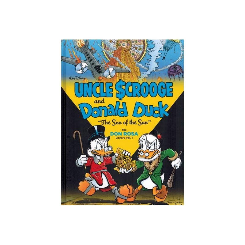 Don Rosa Library 01 HC Uncle Scrooge and Donald Duck The son of the sun