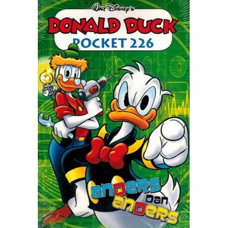 Donald Duck  pocket 226 Anders dan anders