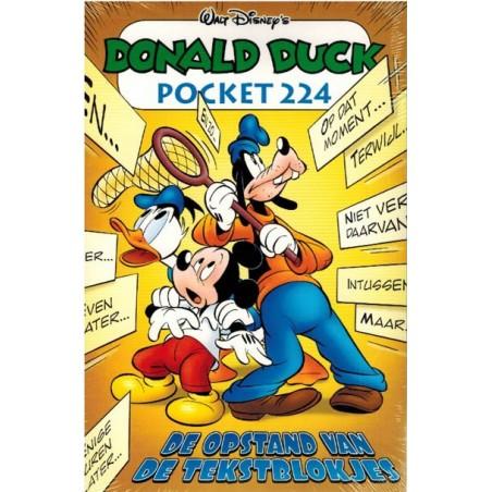 Donald Duck  pocket 224 De opstand van de tekstblokjes