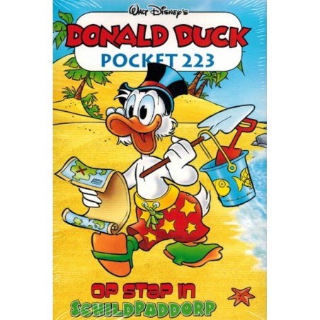 Donald Duck  pocket 223 Op stap in Schildpaddorp