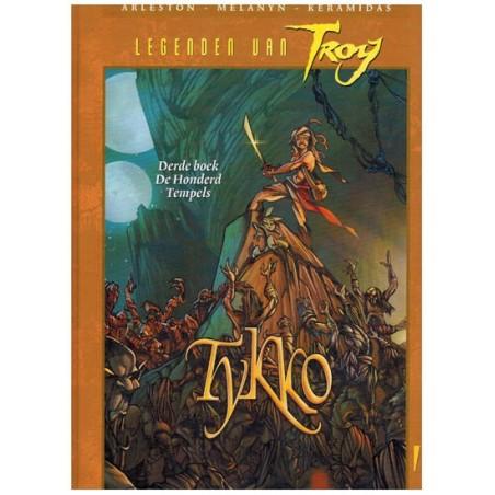 Lanfeust  Legenden van Troy Tykko HC 03 De honderd tempels