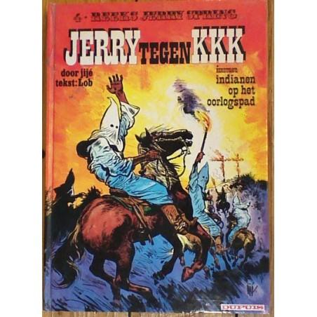 Jerry Spring Luxe HC 04% Jerry tegen KKK + Indianen op het oorlogspad 1975