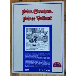 Prinz Eisenherz (Prins Valiant) Luxe HC XXIII 1959 Engels-en Duitstalig 1979