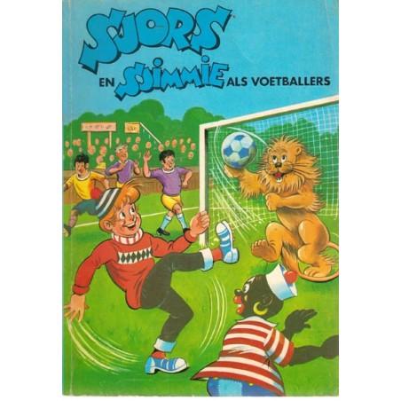 Sjors en Sjimmie 22 Als voetballers 1e druk 1971