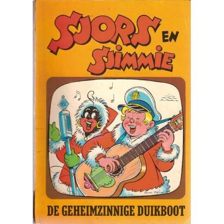 Sjors en Sjimmie 17 De geheimzinnige duikboot 1e druk 1966