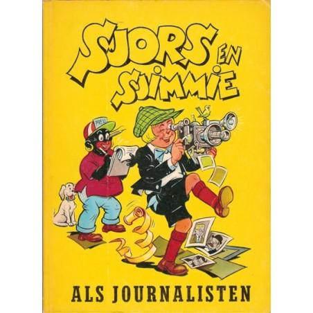 Sjors en Sjimmie 15 Als journalisten 1e druk 1964