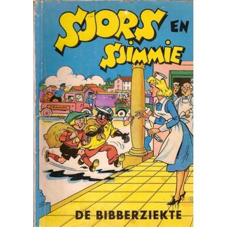 Sjors en Sjimmie 13 De Bibberziekte 1e druk 1962