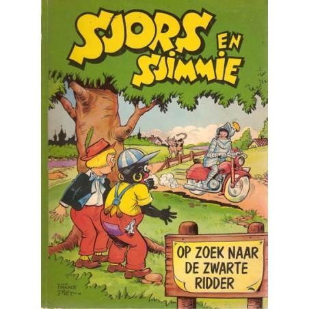 Sjors en Sjimmie 10 Op zoek naar de Zwarte Ridder 1e druk 1959