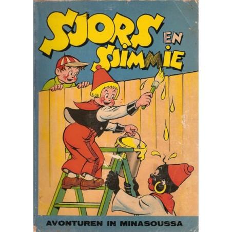Sjors en Sjimmie 07% Avonturen in Minasoussa 1e druk 1956