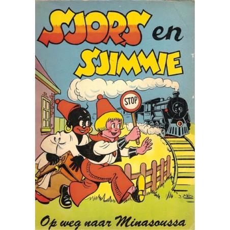 Sjors en Sjimmie 06 Op weg naar Minasoussa 1e druk 1955