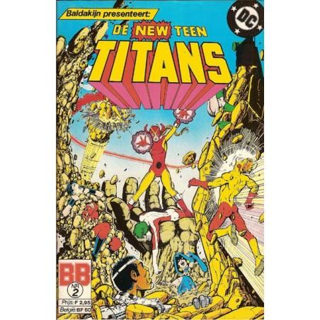 New Teen Titans 02 Terra in de nacht 1986