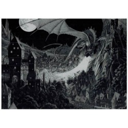 Andreas puzzle Dragon 1000 pieces 680x485 mm limited edition