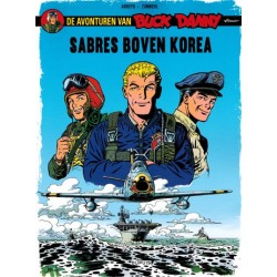 Buck Danny classic 01 Sabres boven Korea
