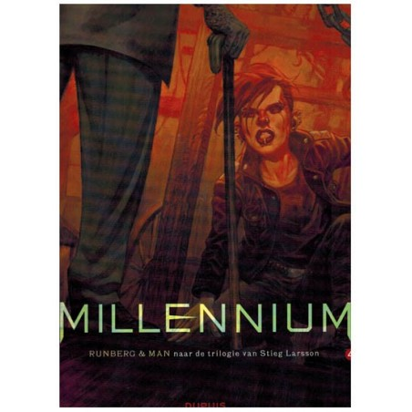 Millennium D04 De vrouw die met vuur speelde II (Stieg Larsson)