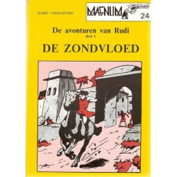 Magnum 24 Rudi De zondvloed 1e druk 1980
