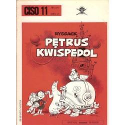 Ciso 11 Petrus Kwispedol (met strips van en over Eddy Ryssack) 1e druk 1972