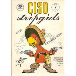 Ciso Stripgids 07 (met strip van Craenhals, over Sleen & over Crepax) 1e druk 1975