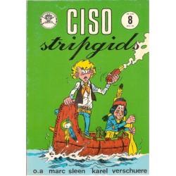 Ciso Stripgids 08 (met strip van Karel Verschuere en over Sleen)  1e druk 1975