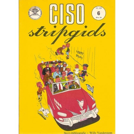 Ciso stripgids 06 Story bibliografie + Robert en Bertrand 1e druk 1975