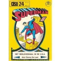 Ciso 24 Het beeldverhaal in de U.S.A. + Superman de moderne Hercules 1e druk 1978