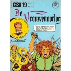 Ciso 19 Jan van Vlaanderen De vrouwenoorlog 1e druk 1974