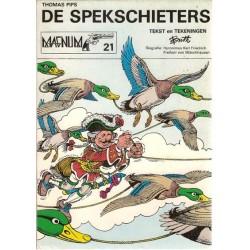 Magnum 21 Thomas Pips De Spekschieters / Munchhaussen 1e druk 1979