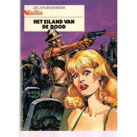 Nadia 01 Het eiland van de dood 1e druk 1988