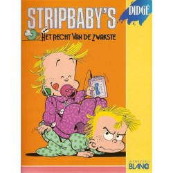 Stripbaby's 01 Het recht van de zwakste 1e druk 1989