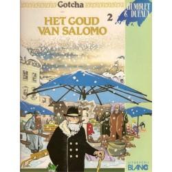 Gotcha 02 Het goud van Salomo 1e druk 1991