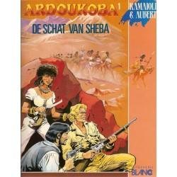 Ardoukoba 01 De schat van Sheba 1e druk 1990