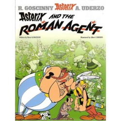 Asterix  UK 15 Asterix and the Roman Agent Engelstalig