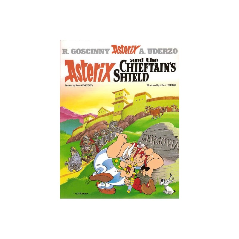 Asterix  UK 11 Asterix and the Chieftain's Shield Engelstalig