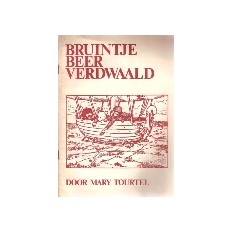 Bruintje Beer Stripschrift bijlage Verdwaald 1e druk 1970