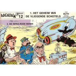 Magnum 12 Thomas Pips Geheim van de vliegende schotels  / Infra-rode bende 1e druk 1979