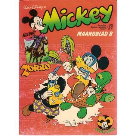 Mickey Mouse Maandblad 1978 08