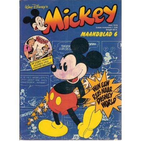 Mickey Mouse Maandblad 1978 06