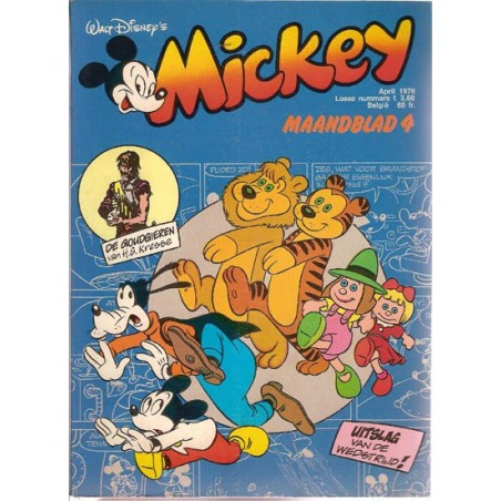Mickey Mouse Maandblad 1978 04