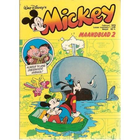 Mickey Mouse Maandblad 1978 02