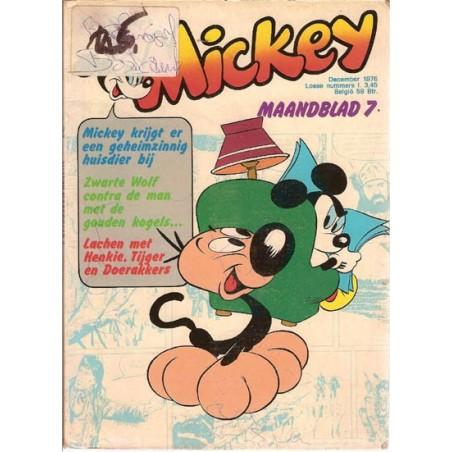 Mickey Mouse Maandblad 1976 07