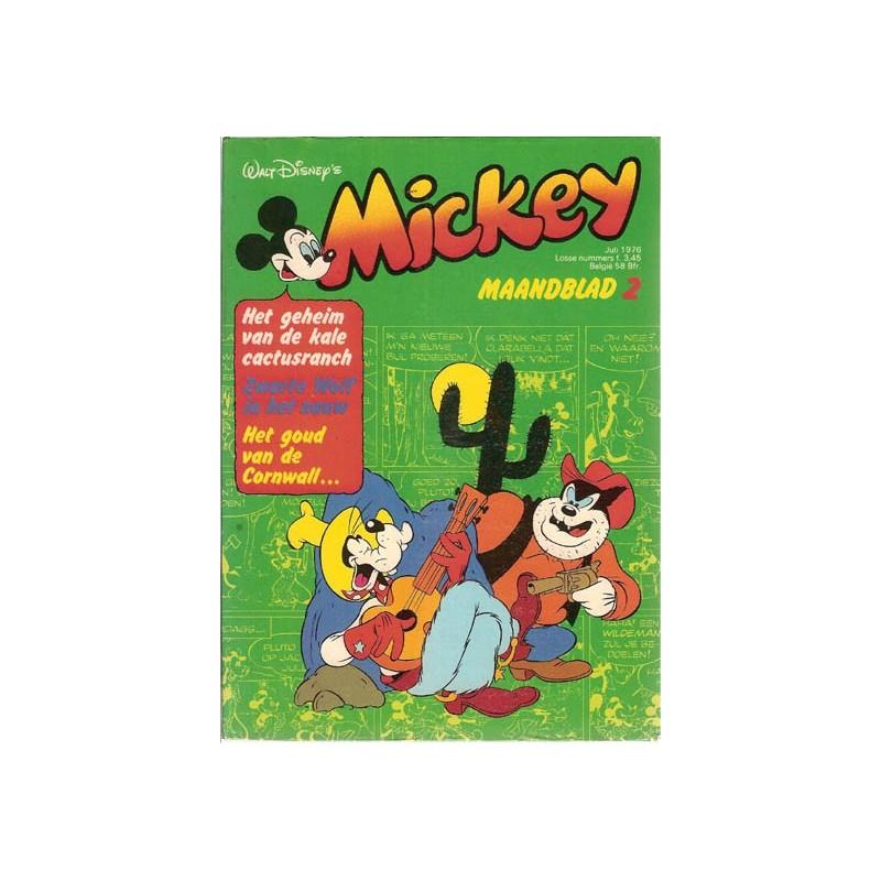 Mickey Mouse Maandblad 1976 02