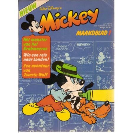 Mickey Mouse Maandblad 1976 01