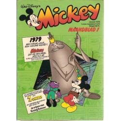 Mickey Mouse Maandblad jaargang 1979 1 t/m 12