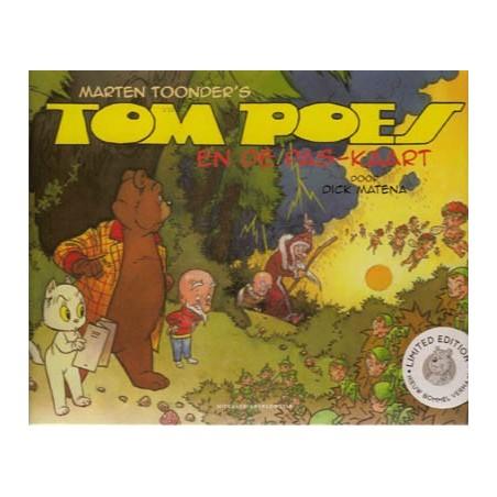 Tom Poes  Matena HC 01 De pas-kaart 1e druk 2014