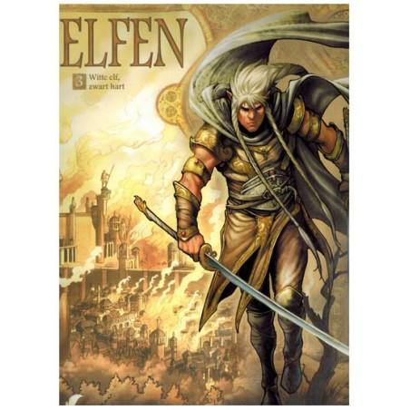 Elfen  03 Witte elf, zwart hart
