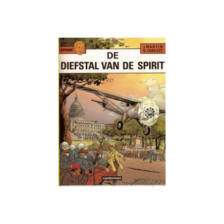 Lefranc  13 De diefstal van de spirit