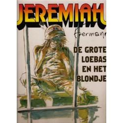 Jeremiah  Luxe HC De grote Loebas en het blondje
