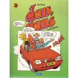 Jan, Jans en de kinderen reclamealbum Ford 2  1e druk 1989