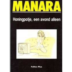 Manara Honingpotje, een avond alleen HC 1e druk 1990