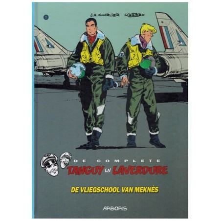 Tangy & Laverdure    integraal HC 01 De vliegschool van Meknes (Tanguy)